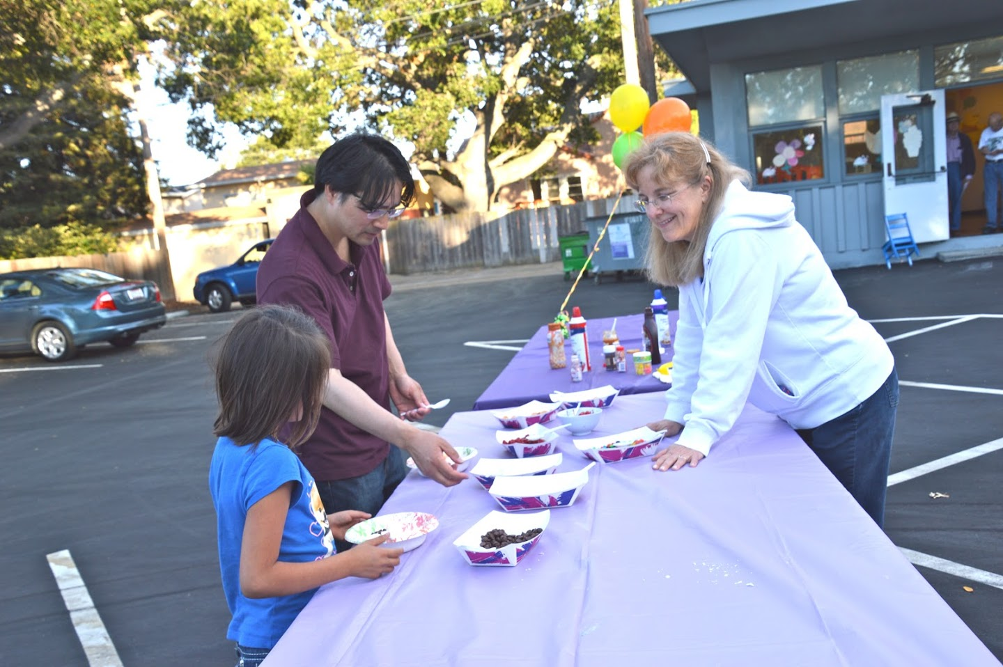 Community Outreach at St. Andrew's, San Mateo