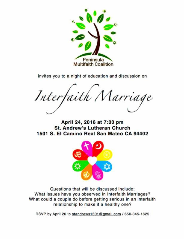 Discussion on Interfaith Marriage | St  Andrew's Lutheran