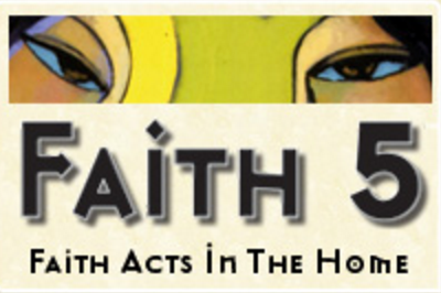 Faith5 Helps Families Connect to their Faith and to Each Other